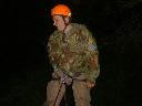 Me abseil, battered at 4am